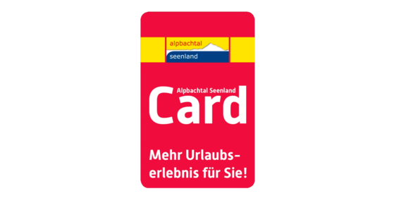 [Translate to Englisch:] Alpbachtal Seenland Card